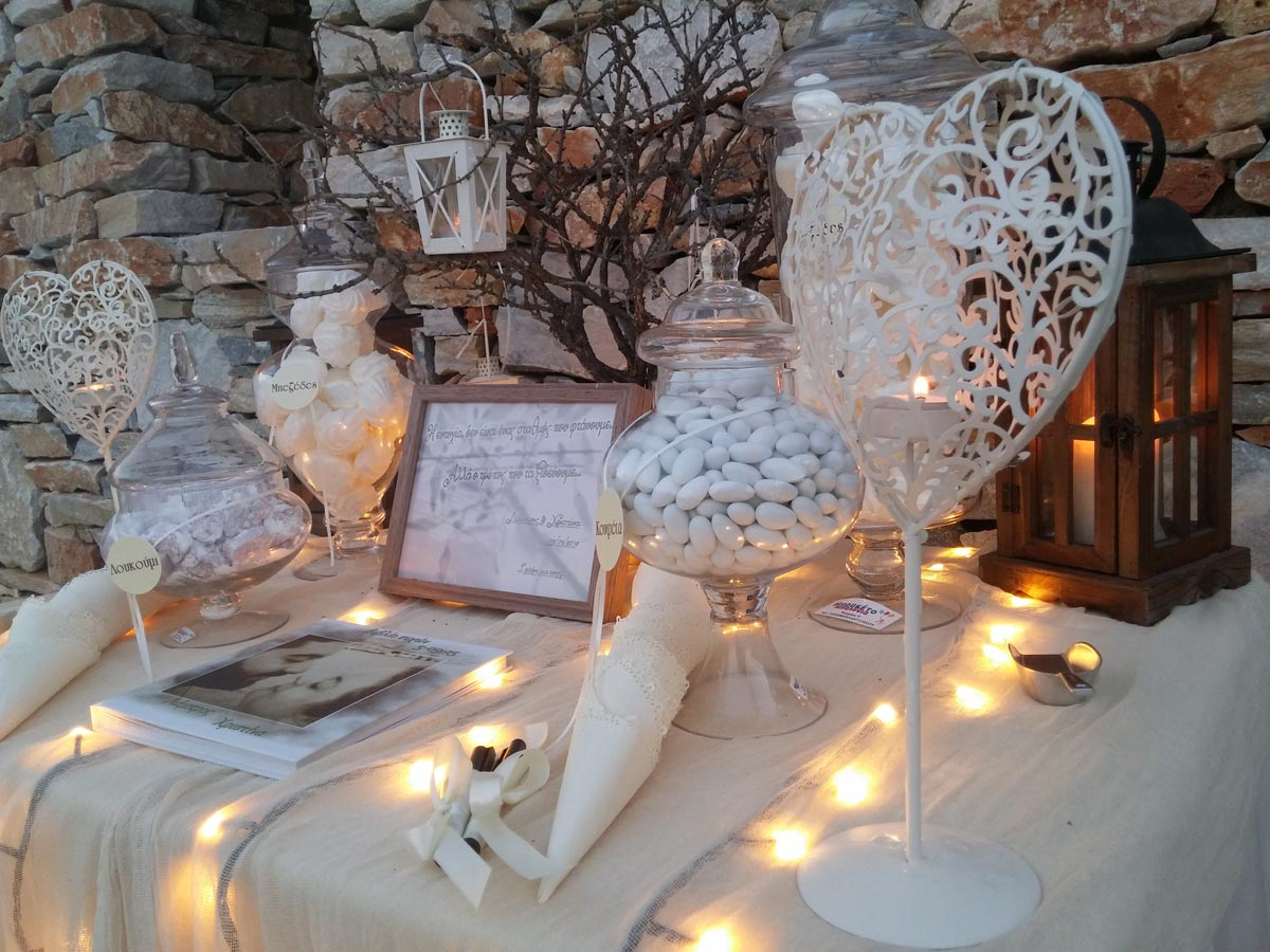 Γάμος «White & Olive»