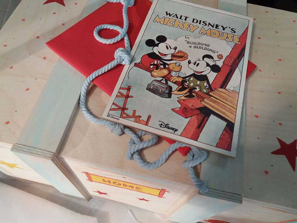 Βάπτιση «Retro Mickey Mouse»