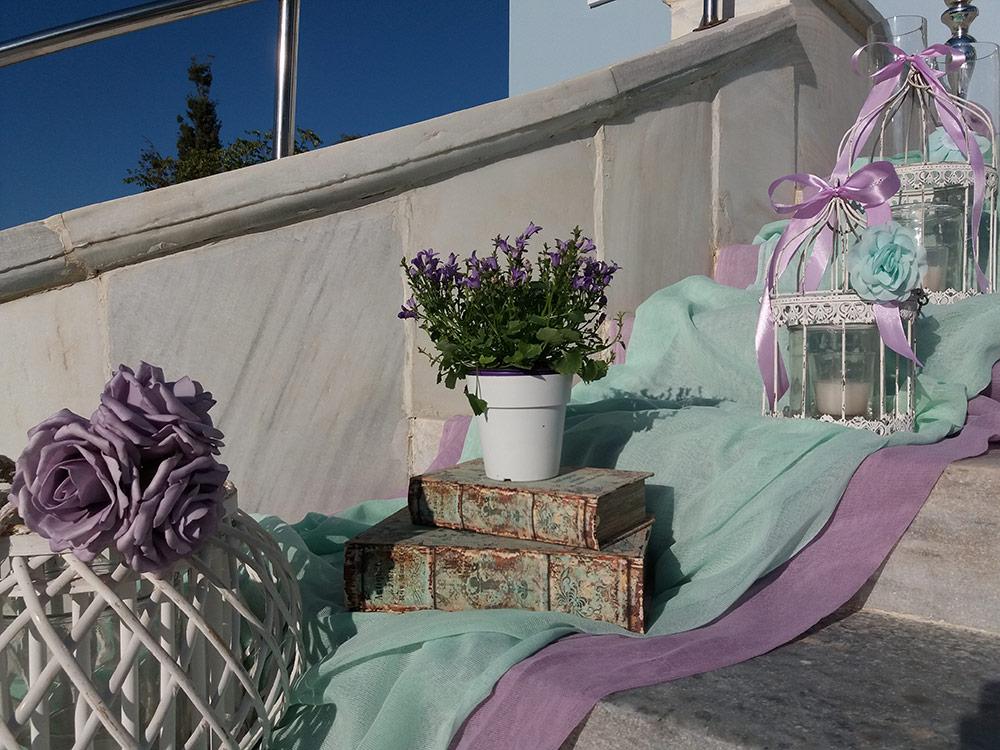 Γάμος «Mint & Purple»