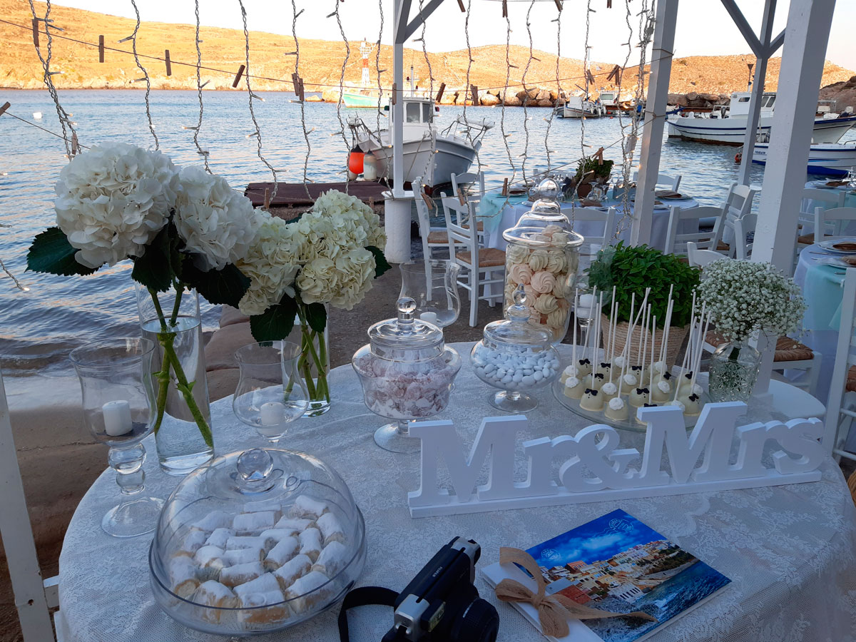 Boho Wedding In Syros