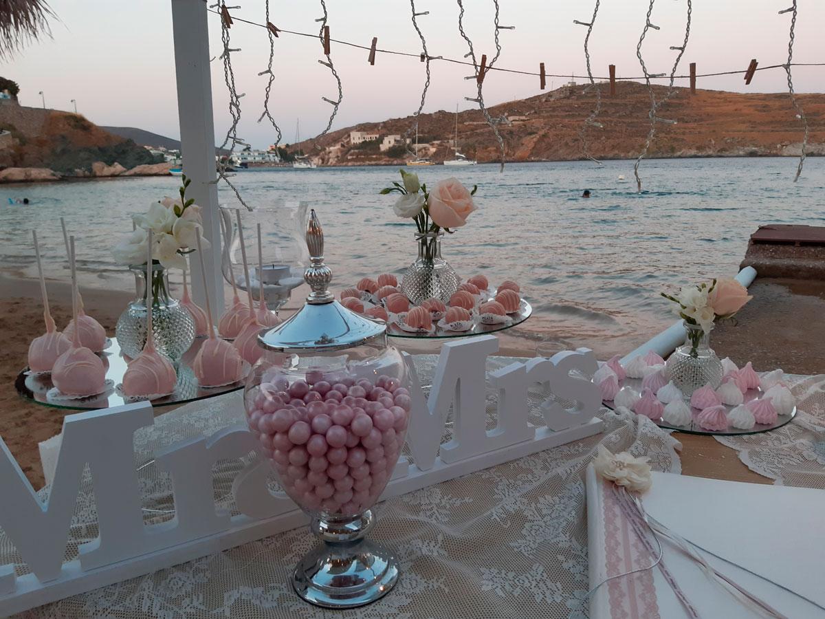 """Γάμος """"Pink & White"""""""
